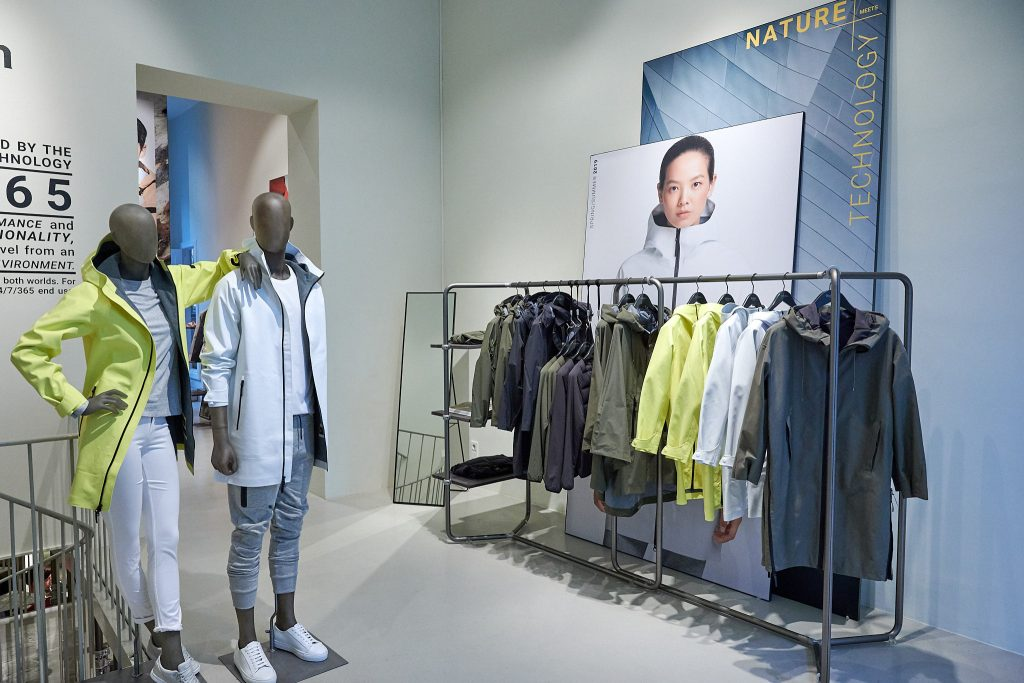 Wolfskin Tech Lab Popup Store Berlin 2019